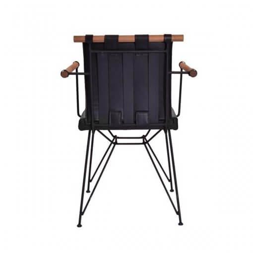 Tello Sandalye Modeli Arka Görünüm
