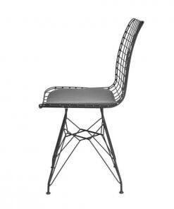 Telsan Sandalye Modeli Yan Görünüm