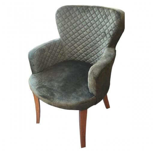Bella Berjer Sandalye Modeli Yan Görünüm