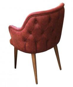 Milano Sandalye Modeli Arka Görünüm