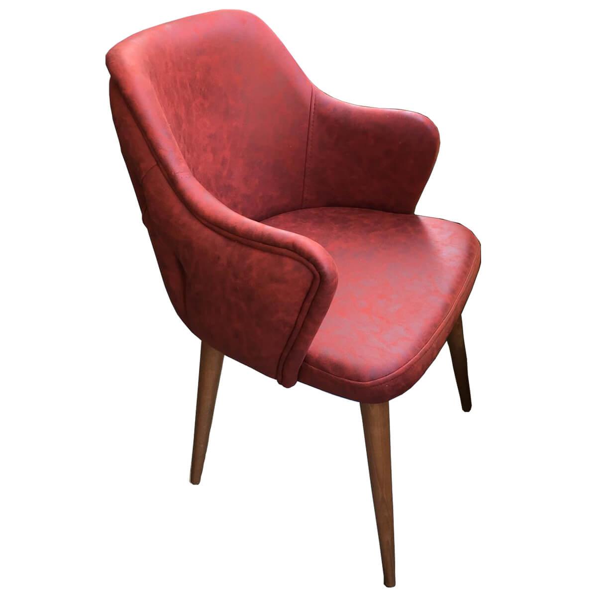 Milano Sandalye Modeli Yan Ön Görünüm