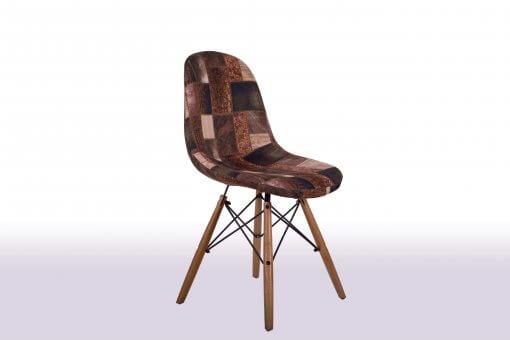 Jelly Sandalye Modeli Çapraz Görünüm