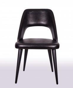 Maya Lake Siyah Sandalye Modeli Ön Görünüm